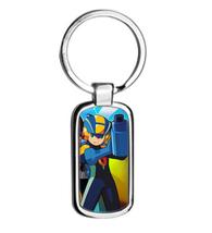 MEGAMAN EXE metal keyring Keychain - $12.50
