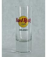 Hard Rock Orlando Barware Tall Shooter Shot Gla... - $9.70