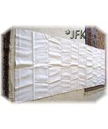 Linen French 1863 handwoven home spun Europe na... - $29.50