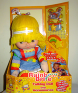 Rainbow Brite Talking Doll With Accessories Toy... - $75.00