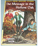 Nancy Drew #12 Message in Hollow Oak Orig Text PC - $11.99