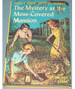 Nancy Drew #18 Mystery Moss-Covered Mansion Ori... - $9.99