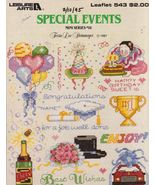 Special Events Cross Stitch Patterns Leisure Ar... - $3.00