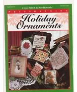 Prizewinning Holiday Ornaments Cross Stitch Pat... - $4.00