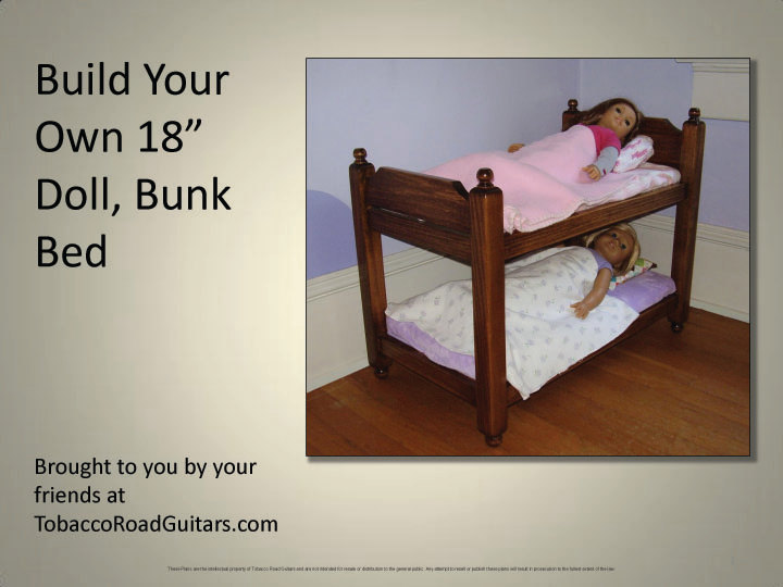 Instructions For Making Bunk Beds, Loft…