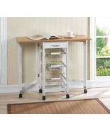 Portable Table with Baskets  - $97.00