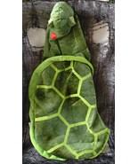 Pet Halloween Dog Costume Green Plush Turtle Fl... - $21.99