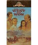How The West Was Won VHS 2 Tapes James Stewart ... - $1.99