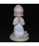 Vintage Lefton Bisque Figurine Thanksgiving Rel... - $13.50