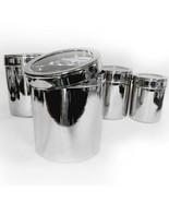 Kitchen Organize Storage Set Canister Stainless... - $53.95