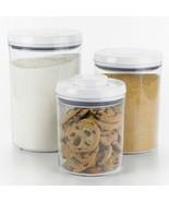 Home Storage Kitchen Canister Organizer White V... - $52.96