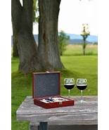 Wine Bottle Gift Accessories Set 9 Piece Wood B... - $81.23