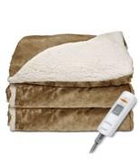 Electric Blanket Heated Bedroom Linen Bed Sunbe... - $74.24