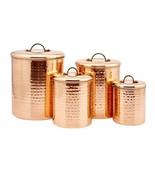 Canister Organization Storage Set Copper Kitche... - $95.59