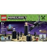 LEGO Building Blocks Minecraft 21117 Ender Drag... - $79.69