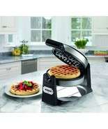 Electric Waffle Iron Baking Belgian Rotary Gril... - $76.83