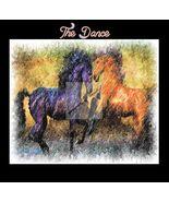 The Dance...Horse Digital Art - $10.00