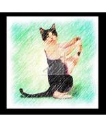 Yoga CAT 4 Re-Mastered Digital Art - $10.00