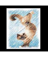 Yoga CAT 3 Re-Mastered Digital Art - $10.00