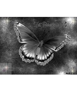 Monochrome Butterflies.. Digital Art - $10.00