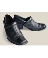 BORN 6M 36.5 Ankle Boots Shoes Booties Black w/... - $21.90