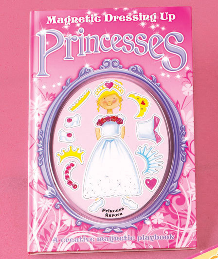 Princesses Magnetic Dress-Up Book