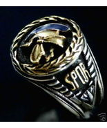 Roman ProConsul Men's Signet ring Sterling Silver - $85.00