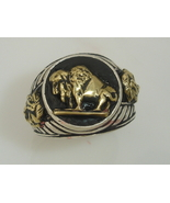 10 Karat Gold American Buffalo Indian Warrior M... - $245.00
