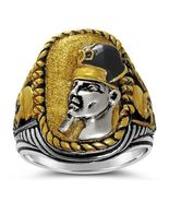 RAMSES the Great Battle of Kadesh ring Sterling... - $118.00