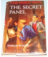 Hardy Boys #25 The Secret Panel Orange EPs DJ - $14.99