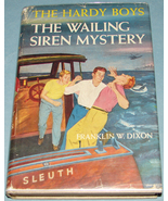 Hardy Boys #30 Wailing Siren Mystery Orange EPs DJ - $11.99