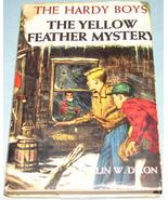 Hardy Boys #33 Yellow Feather Mystery Orig Text DJ - $14.99
