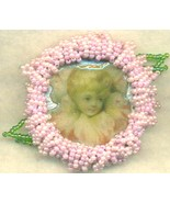Victorian Style Beaded Brooch 2 - $5.53