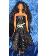 black sparkles and roses - $12.99