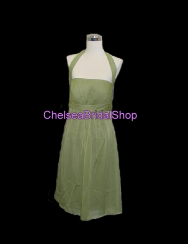 VENUS Bella Bridesmaid Dress BM1194 Sage Sz 8 NEW