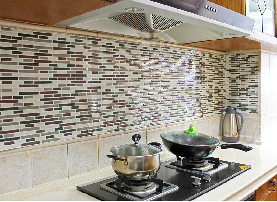 decorative self adhesive 3d backsplash tiles other wallpaper