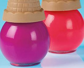 Image 1 of Ice Cream Cone Nail Polish Gift Set