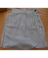 DECADE DESIGNS Black and White Checkerd Mini Sk... - $9.89
