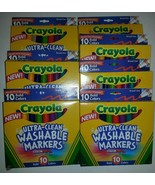 7 x 10 Crayola Ultra Clean Washable Markers 70 ... - $24.75