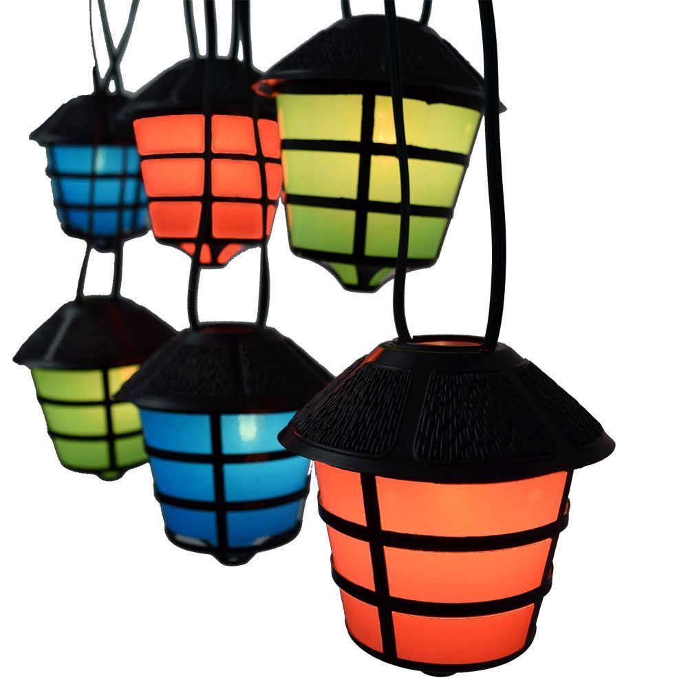 C7 Coach - RV retro Lantern Party light set - patio camper ...