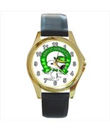 SNOOPY ST. PATRICK'S DAY GOLD OR SILVER TONE WA... - $23.99