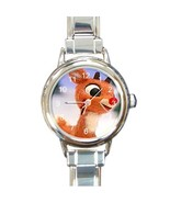 RUDOLPH THE RED-NOSED REINDEER CHARM WATCH CHOO... - $23.99