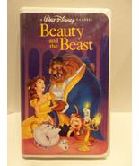 RARE Walt Disney Beauty And The Beast VHS Tape ... - $88.19