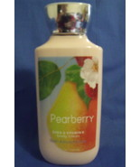 Bath and Body Works New Pearberry Body Lotion 8 oz - $10.00
