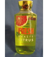 Bath and Body Works New Fresh Brazil Citrus Sho... - $10.00