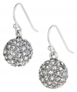 Stella and Dot Silver Soiree Czech Crystal Earr... - $26.00