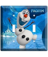DISNEY FROZEN SMILING OLAF SNOWMAN WINTER FUN D... - $11.99