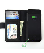 Navor iPhone 5/5S Leather Wallet Case Extend Re... - $34.50