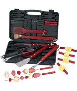 Chefmaster 19pc Barbeque BBQ Tool Set Skewers G... - $19.99
