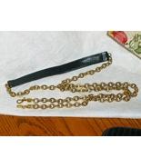 Purse Replacement Strap Black Pebble Grain Leat... - $14.00